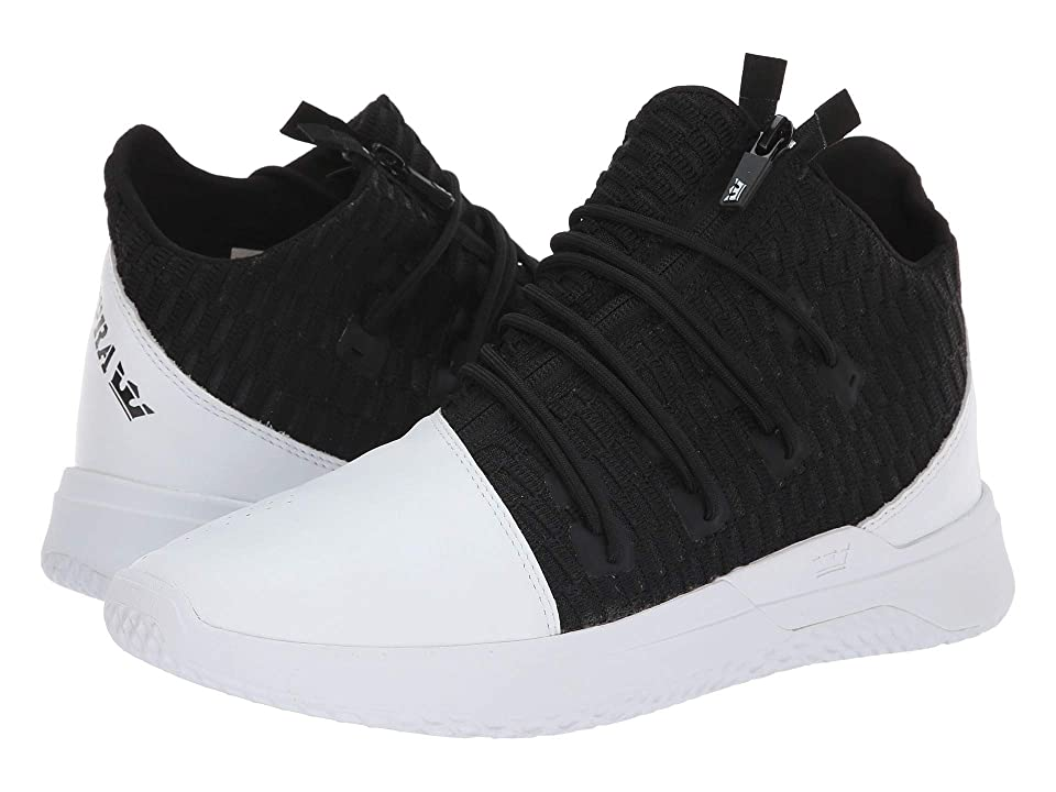 Supra Reason (White/Black/White) Men