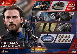【Hot Toys x Marvel】Captain America :: Avengers Infinity War :: 1/6 collectives figure (Movie Promo Edition) MMS481