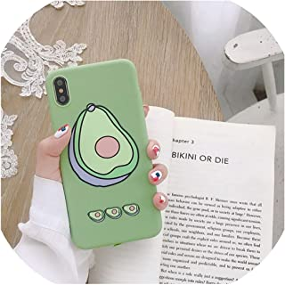 ファッション桃アボカドフルーツソフトTPU電話ケースfor iphone X XS最大XR 11プロ7 8 6 6 sプラスかわいい女の子花愛シリコーンカバーアリババグルー,for iphone XR,011