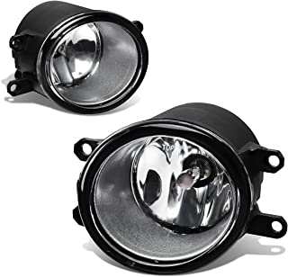 For Yaris/RAV4/Camry Pair of Bumper Driving Fog Lights (Clear Lens)
