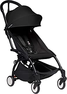 Babyzen YOYO2 Stroller - Black Frame with Black Seat Cushion & Canopy