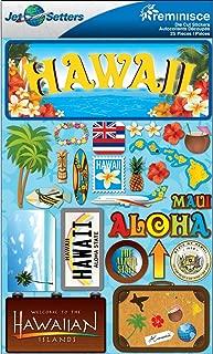 Reminisce Jet Setters 2 3-Dimensional Sticker, Hawaii