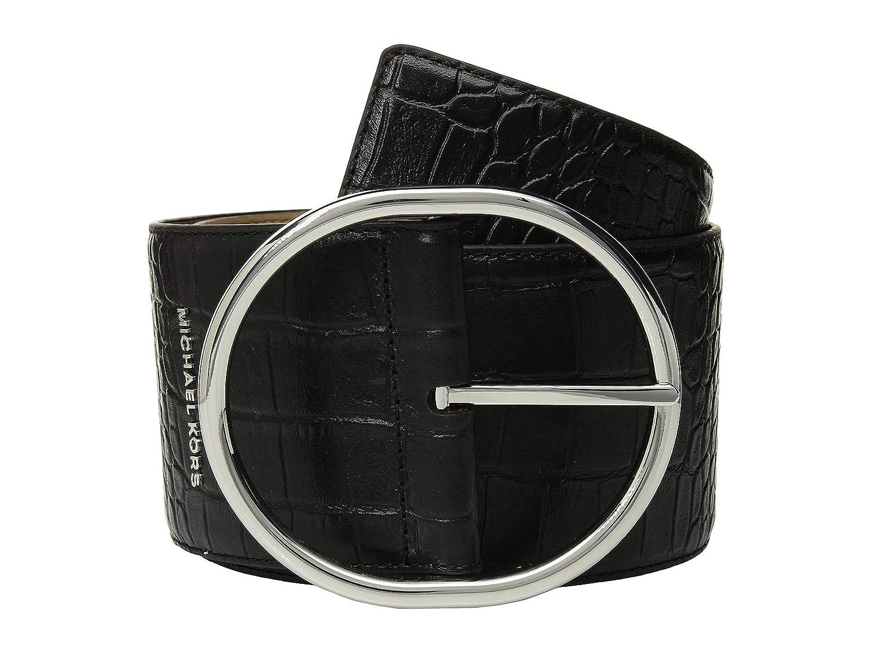 """[マイケルコース] レディース ベルト 85 mm (3.3"""") Oversized Croc Belt [並行輸入品]"""