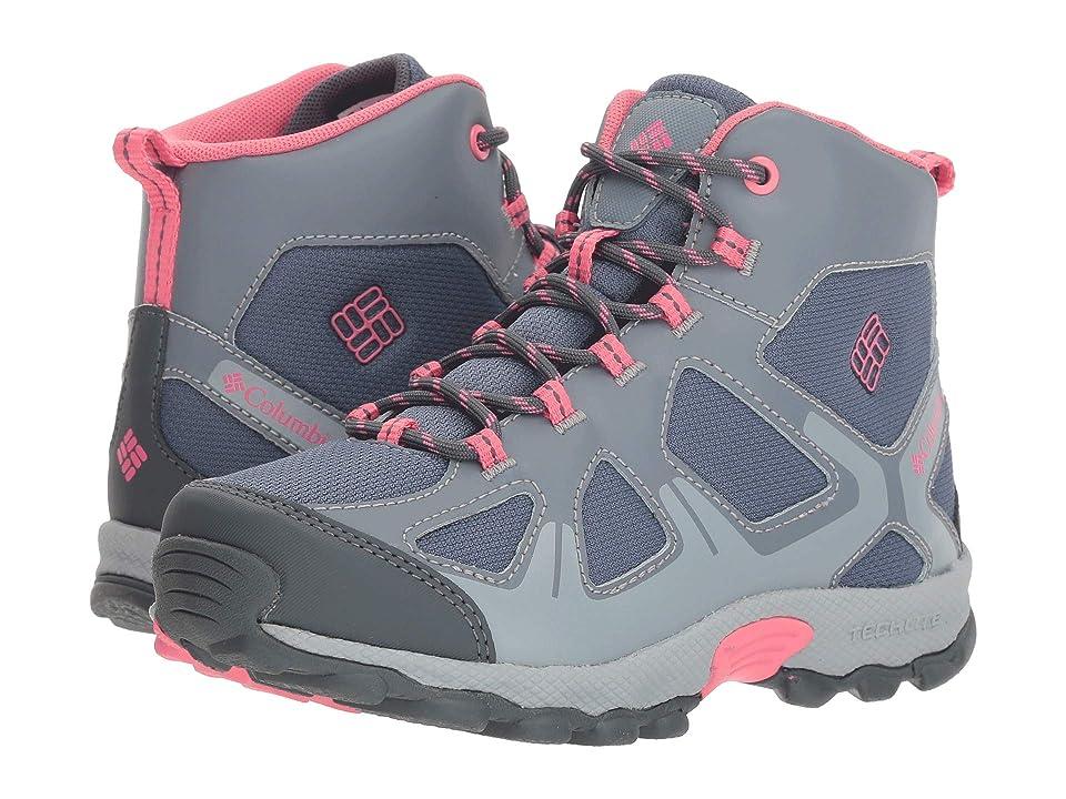 Columbia Kids PeakFreaktm Xcrsn Mid Waterproof (Little Kid/Big Kid) (Mountain/Camellia Rose) Girls Shoes