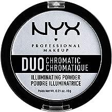 NYX PROFESSIONAL MAKEUP Duo Chromatic Illuminating Powder, Twilight Tint, 0.21 Ounce