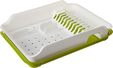 Citylife L-7190 Dish Drainer, 490x370x105mm, Dairy White
