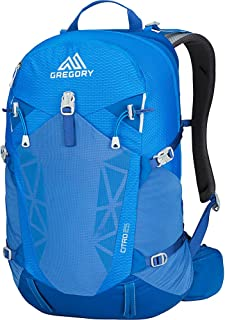 Gregory Mountain Products Citro 25 Liter Men's Day Hiking Backpack   Hiking, Walking, Travel   Free Hydration Bladder, Breathable Components, Cushioned Straps   Stay Hydrated on The Trail
