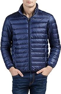 ダウンジャケット メンズ コート ジャケット ウルトラライト ダウン コート 軽量 防風 防寒 コート 秋冬