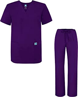 purple tunic uniform