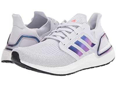 adidas Kids UltraBOOST 20 (Big Kid) (Dash Grey/Boost Blue Metalic/Black) Kid