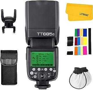 Godox TT685F 2.4G Inalámbrica Transmisión HSS 1/8000s GN60 para Fuji X-Pro1 x-t20 x-t2 x-t10 X-T1 X-Pro1 X-E1 x-a3 X100 F ...