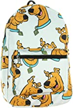 Scooby Doo Floating Head Big Face Sublimated Print Backpack School Bag