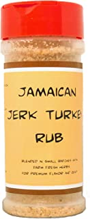 Premium | Jerk TURKEY Rub | Crafted in Small Batches with Farm Fresh SPICES for Premium Flavor and Zest