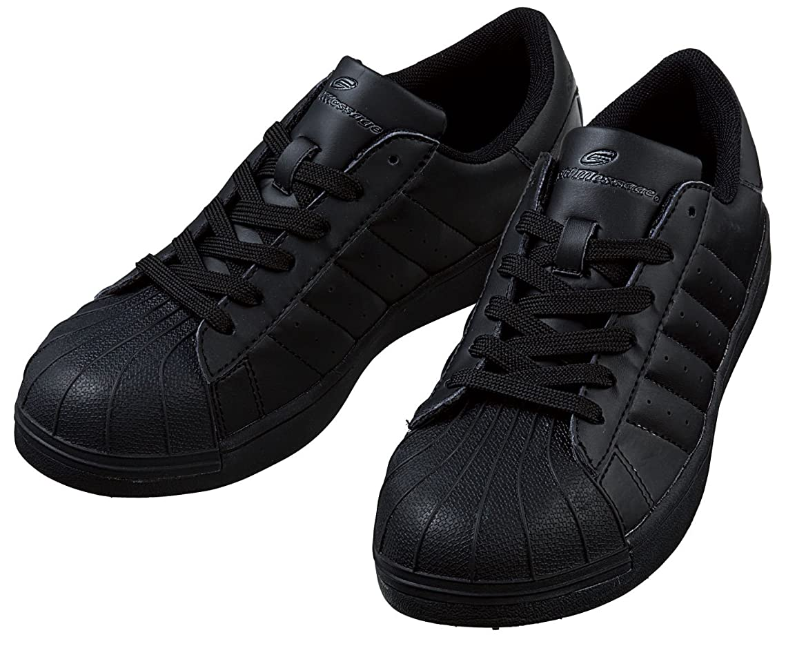 瞑想的靄量で自重堂(JICHODO) 安全スニーカー スチール芯先芯入り(ひも) 安全靴 jd-s5171