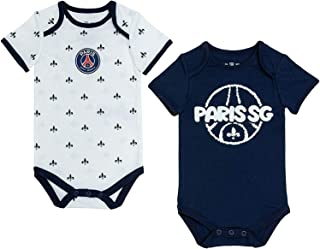 PARIS SAINT-GERMAIN Lot de 2 Body PSG bébé - Collection Officielle