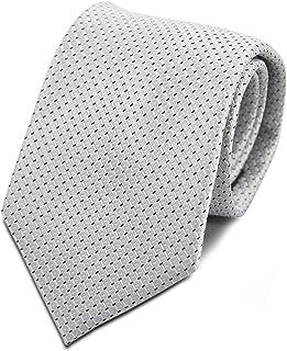 Bergamo Silk Necktie for Men Grey - Color