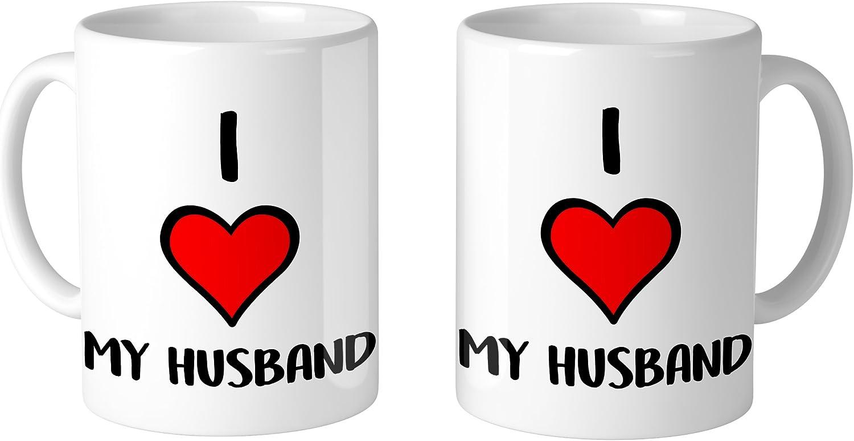 I Love My Husband 11 Oz Mug 1 Mug Kitchen Dining