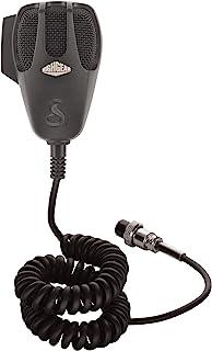 میکروفن CB تعویض 4 پین Premium Dynamic - وظیفه سنگین ، مش سیم ، 9 پایه بند ، بند ارگونومیک ، محافظت از گرما و رطوبت ، مسکن ABS ، بند ناف Strain