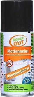 Insect-OUT Mottennebel 150 ml| Sofortwirkung | mottenfrei nach 1 Stunde | Alle Mottenarten | Für Textilien & Lebensmittel| Mit dem Wirkstoff der Chrysantheme
