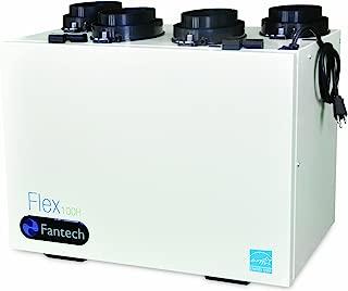 Fantech Flex 100H Heat Recovery Ventilator (HRV) CFM, 0.4 W.C, 50-106