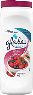 Glade Carpet and Room Refresher, Deodorizer for Home, Pets, and Smoke, Radiant Berries, 32 Oz, Pack of 6
