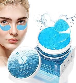 Parches para los Ojos de Sal Marina Máscara para los Ojos Antiedad con Colágeno Contorno de Ojos Antiarrugas Parches Oj...