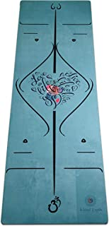 b kind 2 urth Spiritual Alignment Collection Hybrid Eco-Friendly Non-Toxic Microfiber Suede Yoga Mat from Recycled Repurpo...