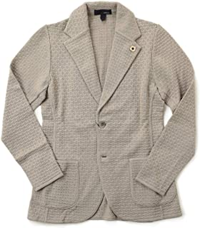 LARDINI ラルディーニ ニットジャケット シングル コットン JTLJM56 El56002【お直し不要】