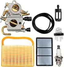 Butom TS420 TS410 Carburetor with Air Filter Tune Up Kit for STIHL TS410Z TS420Z Concrete Cut-Off Saw C1Q-S118 4238 120 0600 Carb