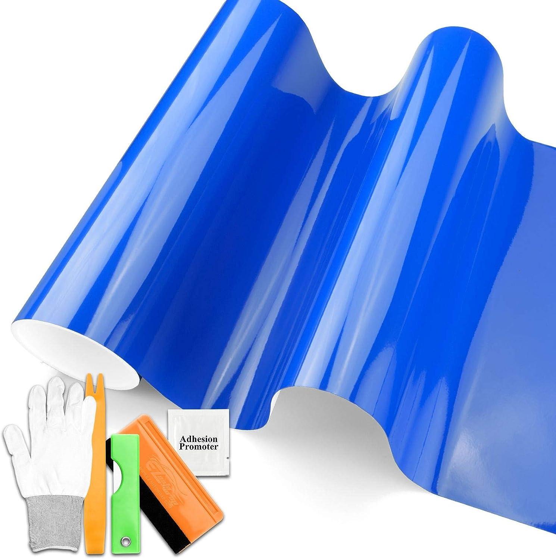 JDMBESTBOY 5FTx5FT Premium Super Gloss V Los Angeles Mall Intense 4 years warranty Car Glossy Blue