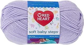 Red Heart Soft Baby Steps Yarn, Lavender