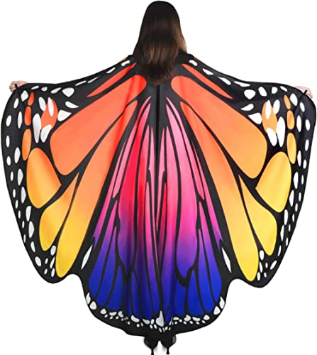 YXwin Halloween Costumes for Women Butterfly Wings for Adult Women