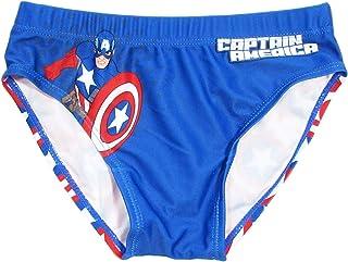 ea4f057e18ff Marvel Costume da Bagno Bambino Slip Capitain America Mare e Piscina,  Avengers - 1797