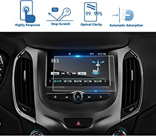 LFOTPP 2016-2018 Toyota Mirai Prius Tacoma 7 Inch Car Navigation Screen Protector Clear Tempered Glass Infotainment Display in-Dash Center Touch Screen Protector LiFan Toyota Mirai//Prius//Tacoma//Sienna 7-Inch