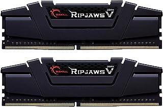 G.SKILL 32GB (2 x 16GB) Ripjaws V Series DDR4 PC4-28800 3600 ميجا هرتز 288-Pin نموذج ذاكرة سطح المكتب F4-3600C18D-32GVK