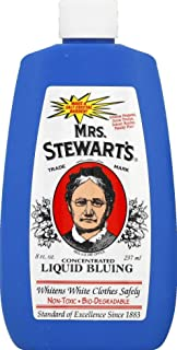 (Pack of 6) Mrs. Stewart's Concentrated Liquid Bluing, 8 fl oz each, Bio-Degradable