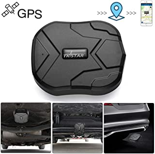 TKMARS GPS Tracker Vehicle GPS Tracker Anti Lost Geo Fence Remove Alarm Standby Time 90 Days Waterproof GPS Locator Tracking Device Magnet 5000mah Battery for Vehicle Motorcycles Trucks TK905