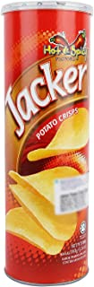 Oriental Jacker Potato Crisps Hot & Spicy, 160 gm