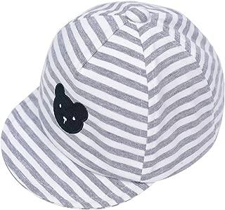 Baby Boy Embroidery Baseball Cap Newborn Stripe Cotton Hat ¡