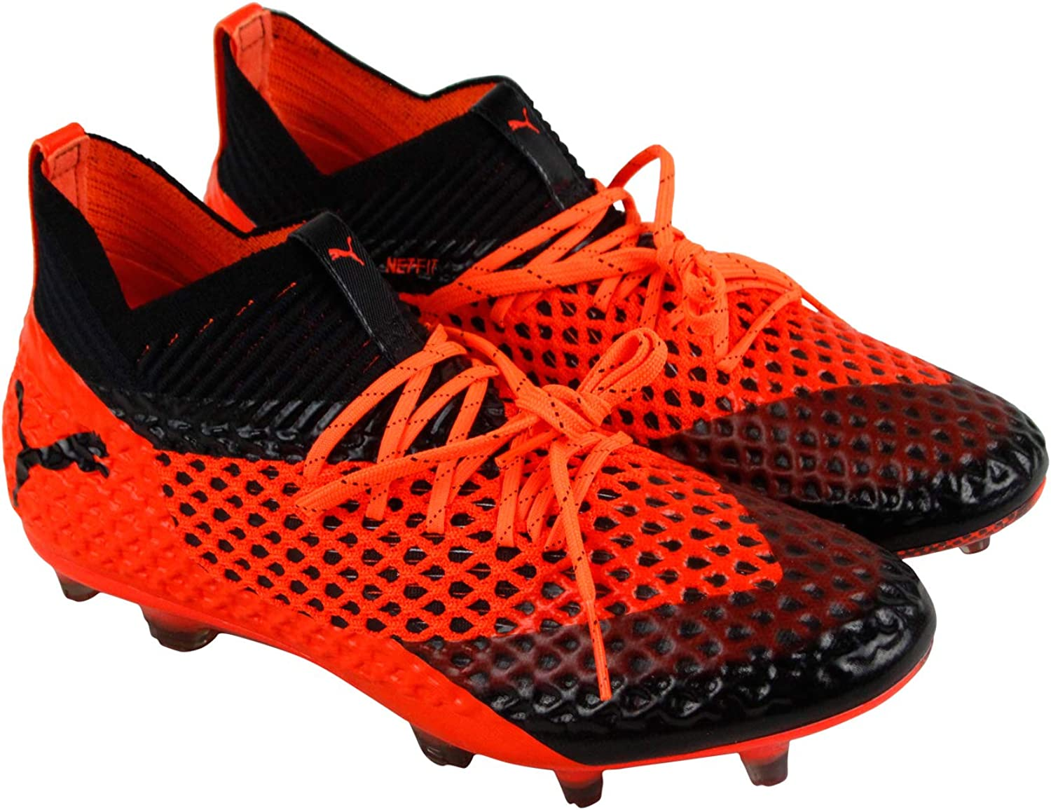 Future Future 2.1 Netfit Fg Ag Mens Orange Synthetic Soccer Cleats schuhe 11.5  Bis zu 60% Rabatt