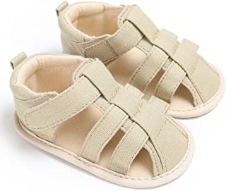 OcamaBaby Boys Soft Shoes,Toddler Plimsolls in Summer
