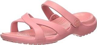 Crocs Women's Meleen Cross Band Sandal | Sandals for Women | Water Shoes