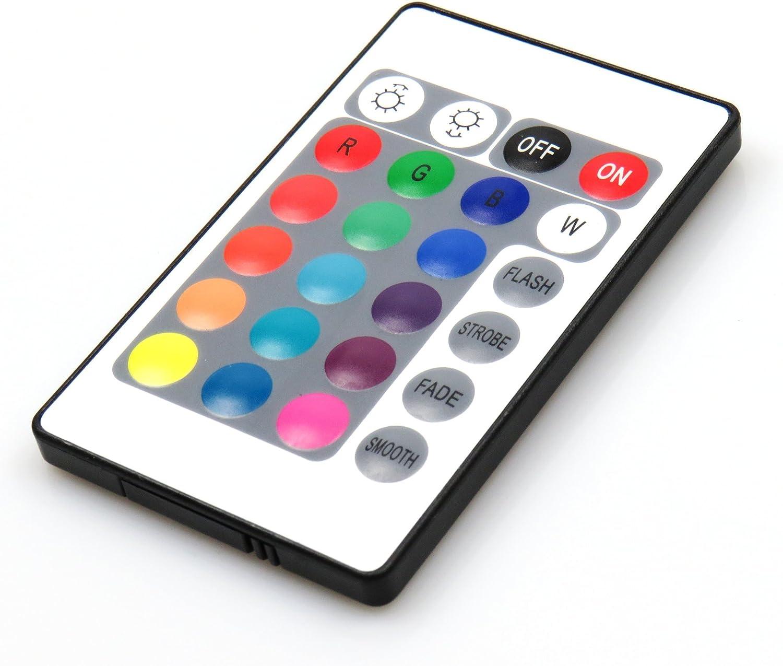 LED RGB Glaskantenbeleuchtung Glasbodenbeleuchtung Vitrinenbeleuchtung Clip Glas, Auswahl:4er SET 8er Set