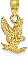 Air Force Small (1/2 Inch) Pendant (Gold Plated)