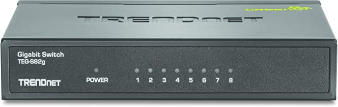 The Excellent Quality GREENnet 8 Port Gigabit Switch