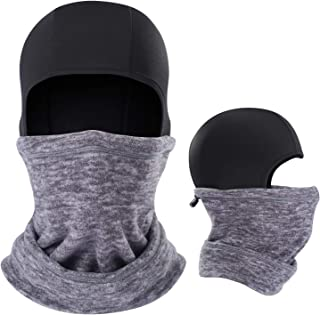 AIWOLU Balaclava Ski Mask Thermal Face Mask for Cold Weather Skiing Snowboard Motorcycle Outdoot Sports