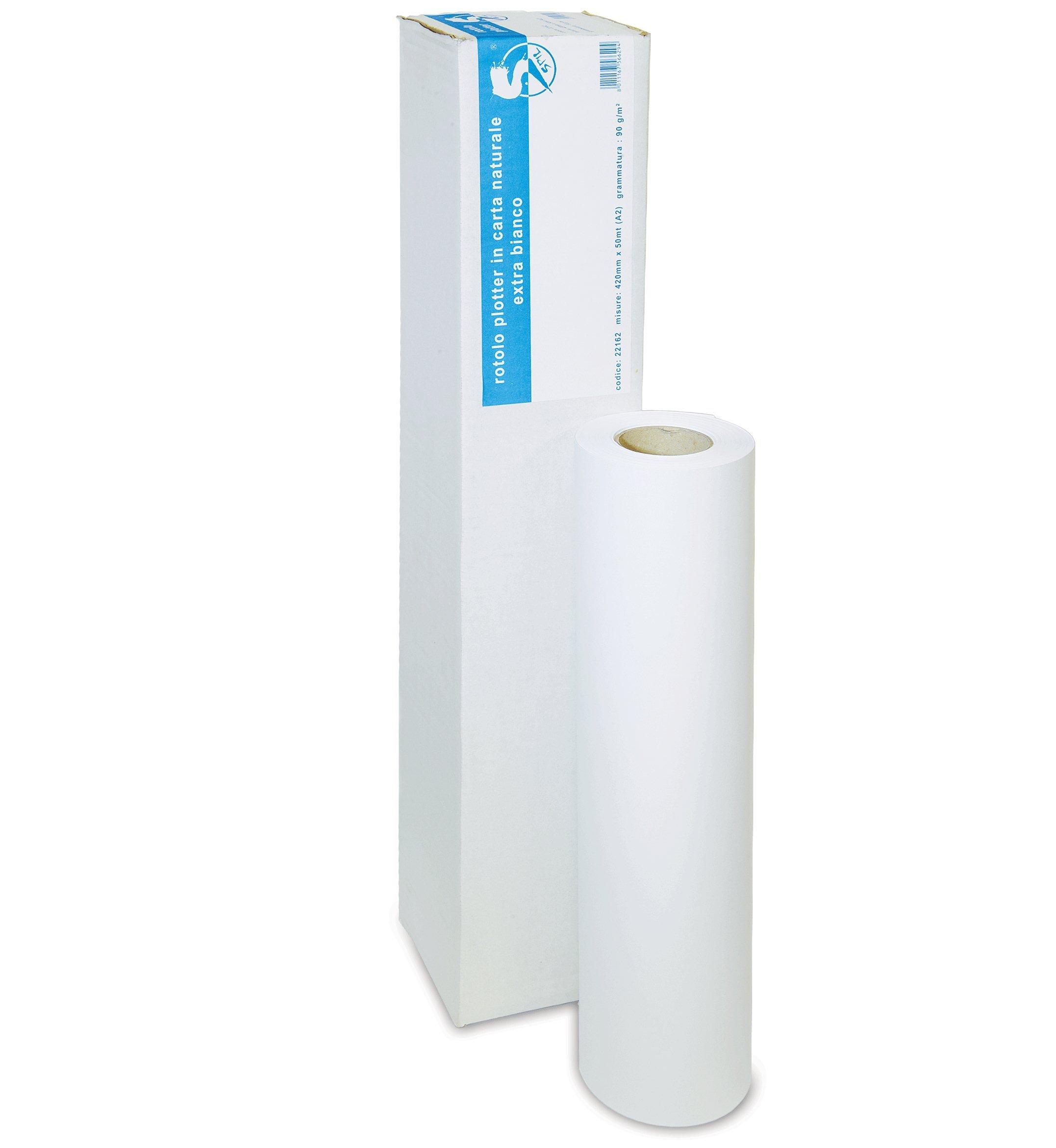 1pz rollo papel Plotter A1 120 gr. mm610 * MT50 * mm50 – Papel mate Gr.120: Amazon.es: Bricolaje y herramientas