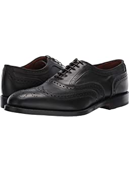 Hishoes Brogue Shoes for Men Wingtip Oxfords Slip on Loafer Patent Leather Elastic Bands Antislip Outsole Anti-Slip Color : Black, Size : 7 M US
