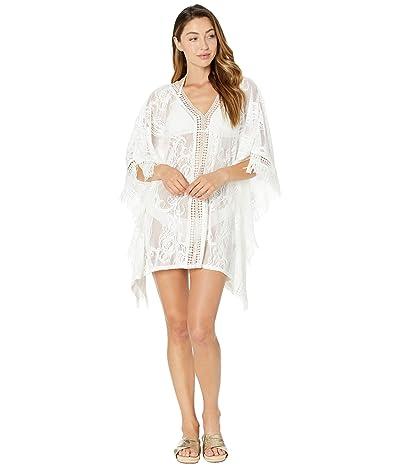 Lilly Pulitzer Skyla Cover-Up (Resort White Jellyfish Critter Crochet) Women