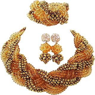 PrestigeApplause Royal Parure de Bijoux avec Collier et Collier Femme